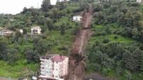 BAŞKÖY - Giresun'dan sonra Rize'de felaket! Şiddetli yağış sonrası 2 bina boşaltıldı