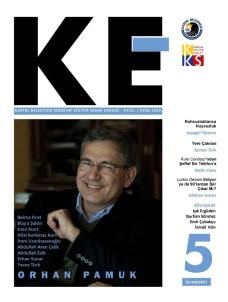 'KE' 5. Sayısında Nobel Ödüllü Yazar Orhan Pamuk'u Selamlıyor