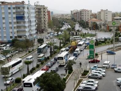 Aydın'da Araç Sayısı Bir Yılda Yüzde 3 Arttı