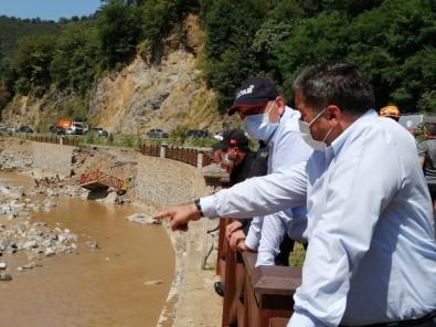 Bakan Soylu Sel Bölgesindeki İncelemelerini Sürdürüyor