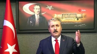 BBP Genel Başkanı Destici Açıklaması 'Sultan Alparslan Da Bizim, Gazi Mustafa Kemal De Bizim'