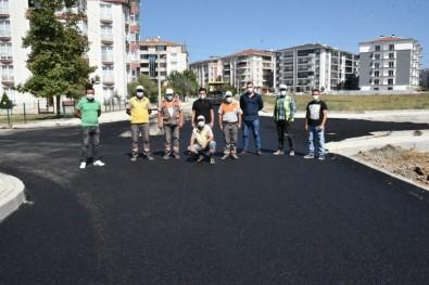 Çorlu'da Asfaltlama Çalışmaları Sürüyor
