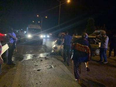 Gediz'de Trafik Kazası; 1 Ölü 6 Yaralı