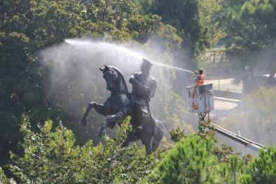 Onur Anıtı 30 Ağustos'a Hazırlandı