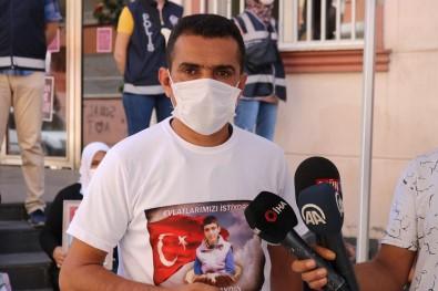 PKK'lılardan Evlat Nöbetindeki Ailelere Gözdağı