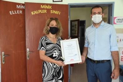Sinop'ta Anaokuluna 'Okulum Temiz Belgesi'