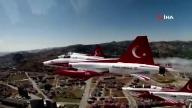 Türk Yıldızları Afyonkarahisar'da 30 Ağustos İçin Havalandı