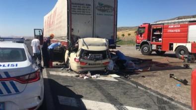 Konya-Ankara kara yolununda feci kaza!
