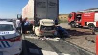 GÖLBAŞI - Konya-Ankara kara yolununda feci kaza!
