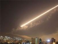 ORTADOĞU - Şam'a hava saldırısı düzenlendi!
