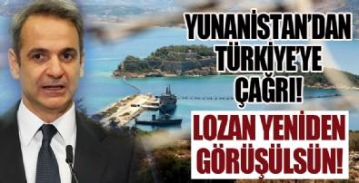 Yunanistan'dan Türkiye'ye Lozan çağrısı!