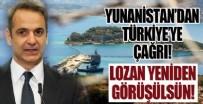 SÜLEYMANIYE - Yunanistan'dan Türkiye'ye Lozan çağrısı!