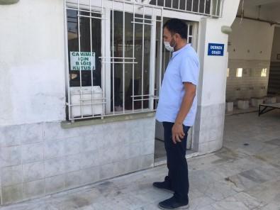Aydın'da Hırsızlar Caminin Paralarını Çaldı