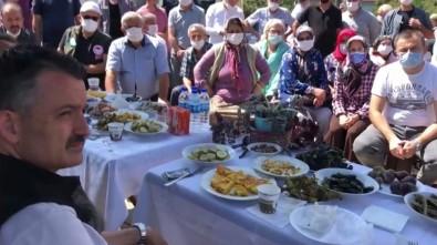 Bakan Pakdemirli Giresun'un Sayca Köyünde Fındık Üreticileri İle Buluştu