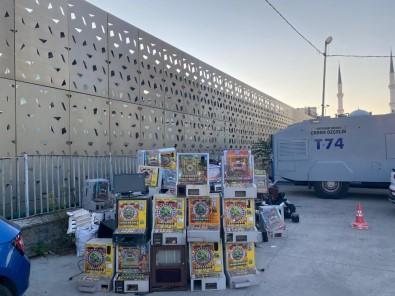 İstanbul'da Kumar Operasyonu Açıklaması 50 Adet Makine Ele Geçirildi