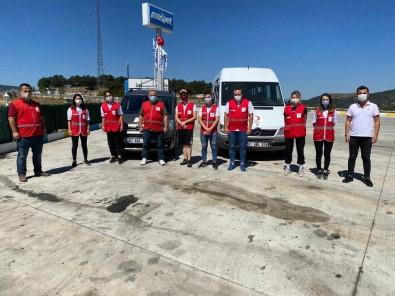 Selzedelere Zonguldak Kızılay'dan Destek
