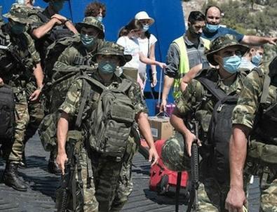 Yunan ateşle oynuyor! O bölgeye asker gönderdiler