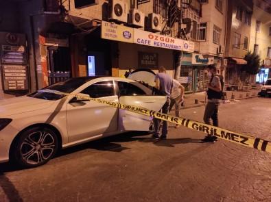 Beyoğlu'nda İş Yerine Ve Lüks Bir Araca Silahlı Saldırı