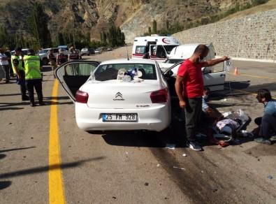 İspir'de Feci Kaza Açıklaması 7 Yaralı