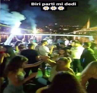İstanbul Boğazı'nda Salgına Rağmen 'Korona Virüs Partileri' Kamerada