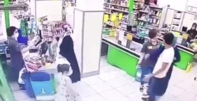 (Özel) Marketteki Kadın Çalışanlara Yumruklu Saldırı Anları Kamerada