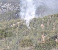 HELIKOPTER - Antalya'da orman yangını!