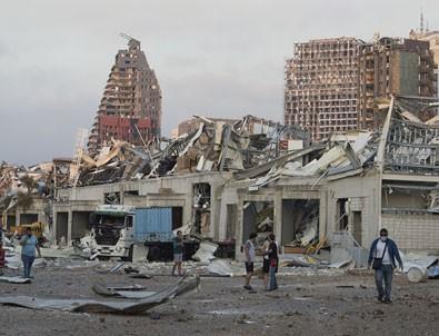 Lübnan'ın başkenti Beyrut'taki patlamanın arkasında İsrail mi var?