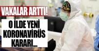 İL SAĞLıK MÜDÜRLÜĞÜ - Vakalar arttı! O ilde yeni koronavirüs kararı...