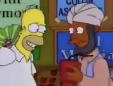 Simpsonlar dizisinde Lübnan detayı!