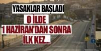 POLİS - O ilde kısıtlama başladı!