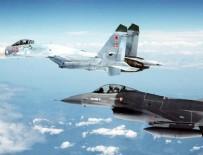 ULUSLARARASI HAVA SAHASI - Rus ve ABD uçakları, Karadeniz'de karşı karşıya geldi