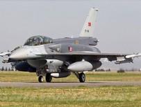 ASKERİ TATBİKAT - Türkiye ve Azerbaycan F-16'ları gökleri inletti!