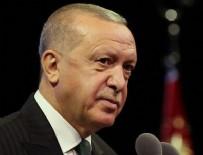 OSMAN GAZI - Cumhurbaşkanı Erdoğan'dan Ertuğrul Gazi'yi anma mesajı