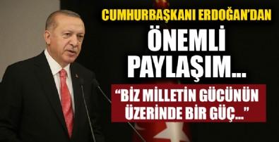 Başkan Erdoğan'dan anlamlı '12 Eylül' paylaşımı