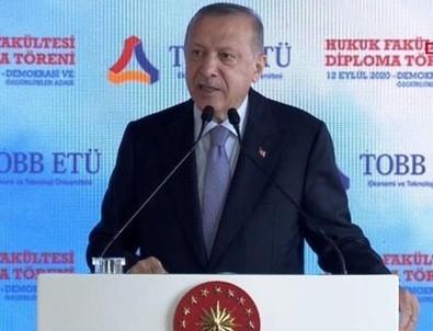 Başkan Erdoğan'dan küresel ekonomi tetikçilerine sert tepki: Sizin puanlamalarınızın kıymetiharbiyesi yok