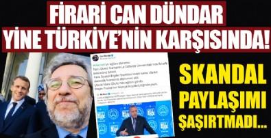Can Dündar yine Türkiye karşıtı!