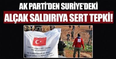 AK Parti'den Suriye'deki kalleş Kızılay saldırısına sert tepki!