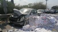 FERİBOT İSKELESİ - Gebze'de korku dolu anlar! 9 aracı ezdi geçti