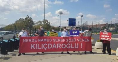 Kılıçdaroğlu ve İmamoğlu'na protesto!
