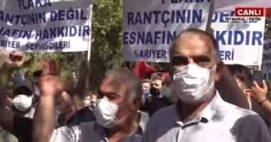Vatandaşlar daha fazla dayanamadı! CHP'li İBB önünde gergin anlar