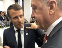TELEFON GÖRÜŞMESİ - Başkan Erdoğan Macron ile görüştü!