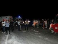 KURTARMA EKİBİ - Mardin'de feci kaza!