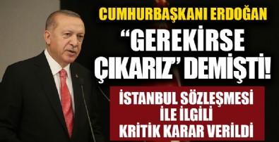 AK Parti'nin 'İstanbul Sözleşmesi' ile ilgili çalışmasında sona gelindi