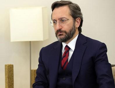 Fahrettin Altun'dan Yunanistan'a kınama!