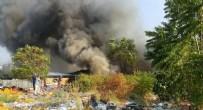 GÖLBAŞI - Bursa'da korkutan yangın!