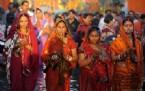 Hindu Festivali Chhath Puja 2012