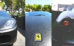 İşte Deri Kaplı BMW ve Ferrari Modelleri