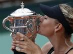 Fransa'da Şampiyon Sharapova