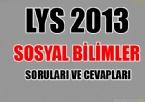 edebiyat - LYS 2013 Sosyal Bilimler Soruları ve Cevapları