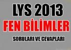 LYS 2013 Fen Bilimler Soruları ve Cevapları